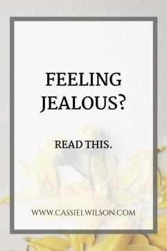 Feeling jealous? |  Cassie L. Wilson- learning to be the light