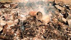 Una montagna di rifiuti