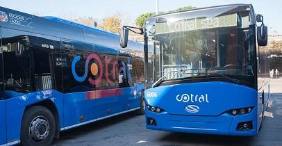 consegna nuovi bus cotral regionali