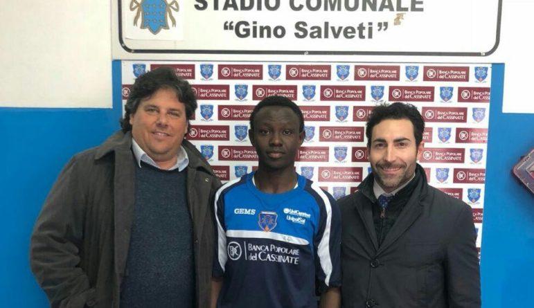 """Serie D – E' ufficiale, il giovane Camara è del Cassino: """"Doti atletiche impressionanti"""""""