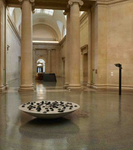Installation shot of Alison Wilding, Display, Duveen galleries, Tate Britain