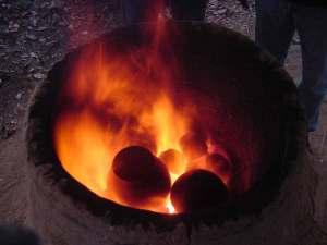 Cottura ceramica in fornace - Attività centro archeologia sperimentale torino