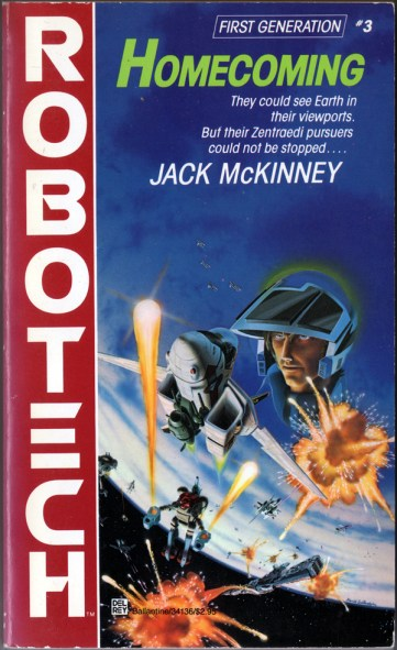 Robotech #3 Homecoming