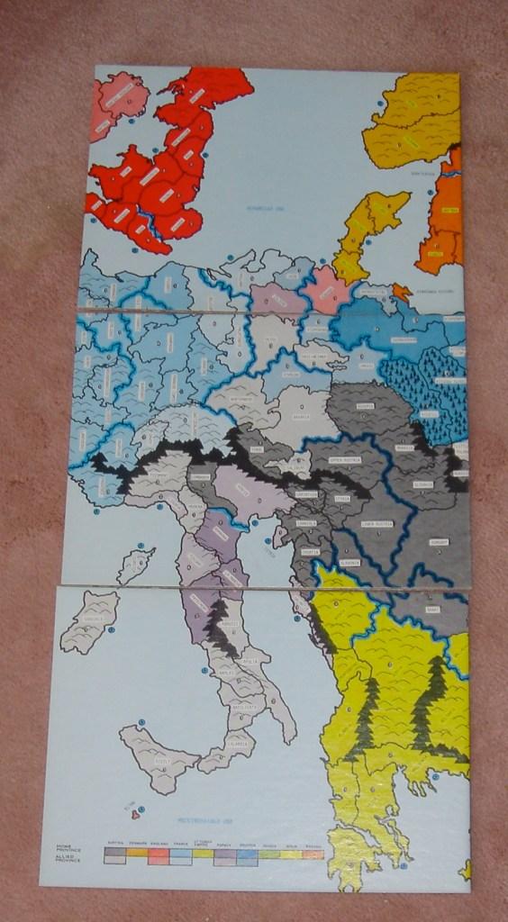 Italian Campaign Map