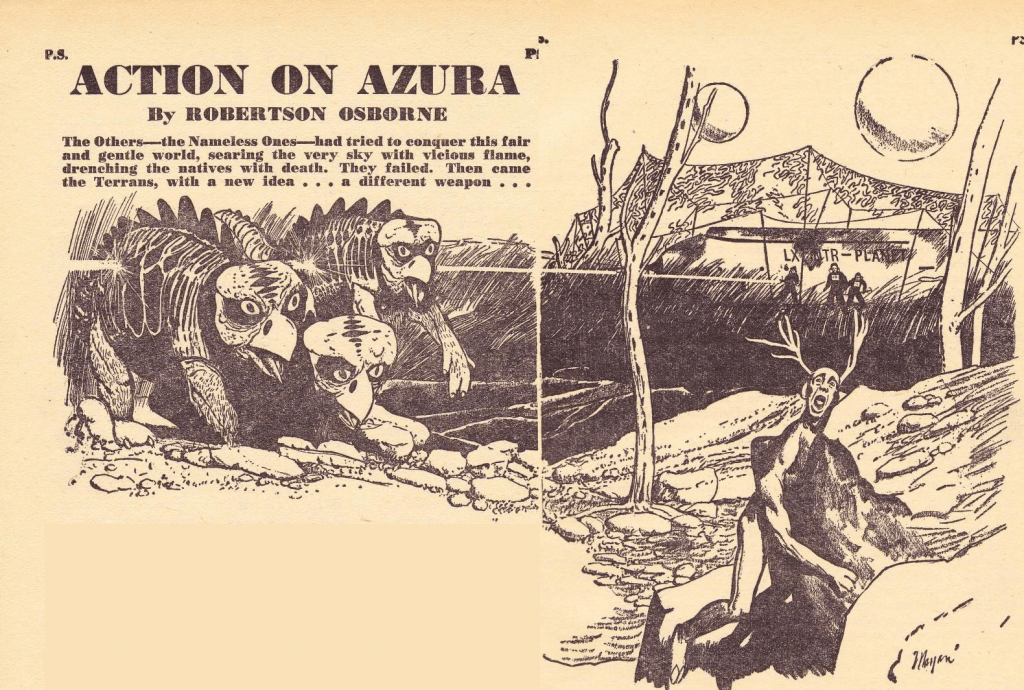 Action On Azura Pic
