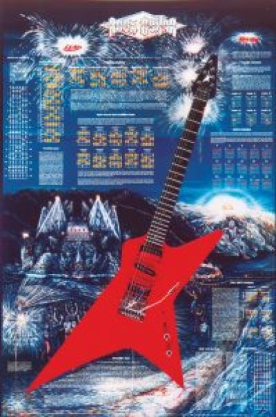 The Rock Guitar Poster™ © 1984