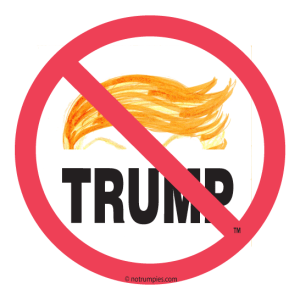 The official No Trump Zone sign.