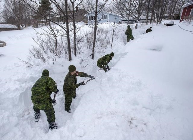 Armed Forces wrap up blizzard response in Newfoundland - Canada ...
