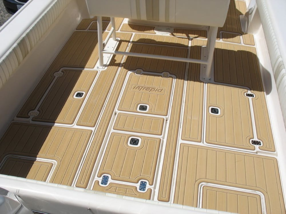 Intrepid Boats Faux Teak And Holly Castaway Customs
