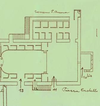 foto 9. Le scale e le uscite di sicurezza del vecchio Teatro (Gent. conc. Arch. Pierlucio Raimondi)