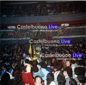 foto 25 il pubblico delle Fontanelle, carnevale 1984