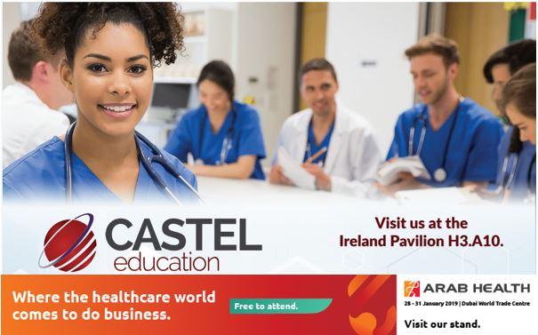 Castel Education at Arab Health 2019