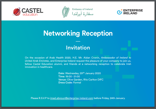 Alumni Networking Reception