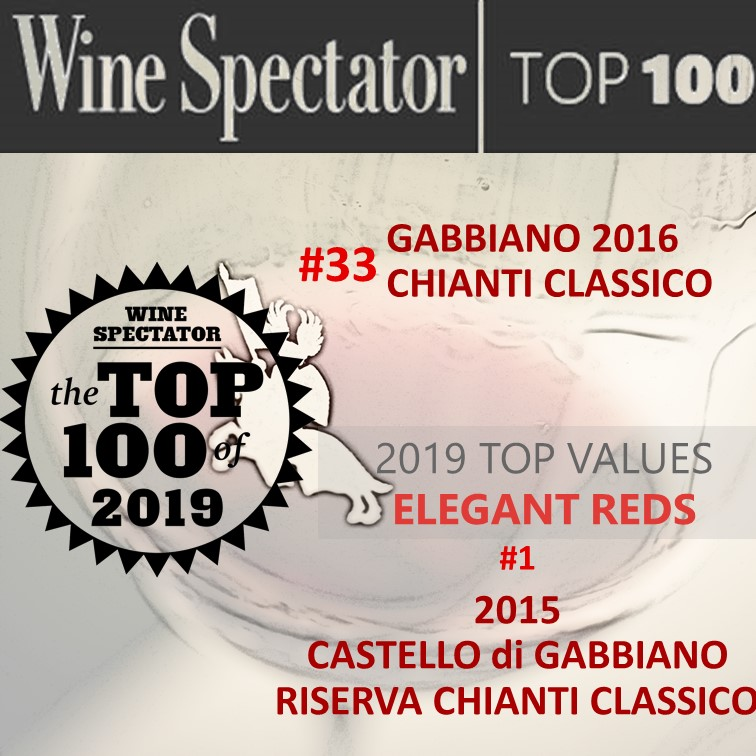 WS TOP 100 WINES 2019