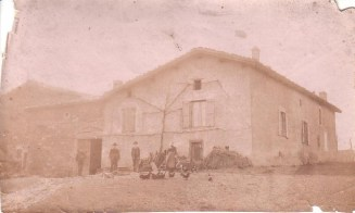 Ferme Bruyas avant 1920