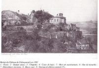 la chapelle dont la cloche date du XIVe siècle