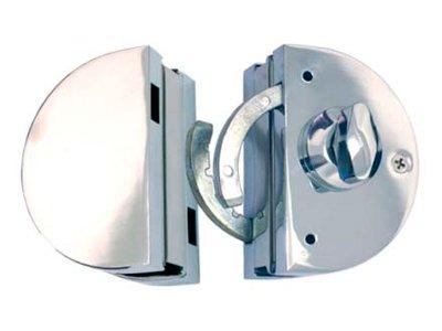 Fechadura de Sobrepor FE-09A-V-V-Glass-Vetro