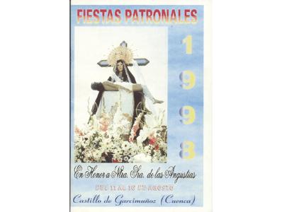 Programa de Fiestas año 1998