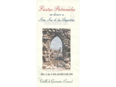 Programa de Fiestas año 1999