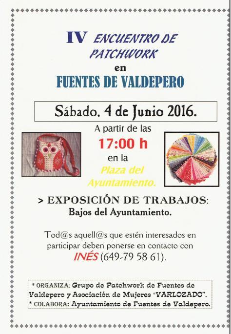 Encuentro patchwork 2016