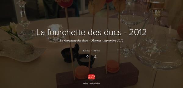 Galerie Flickr - La Fourchette des ducs 2012