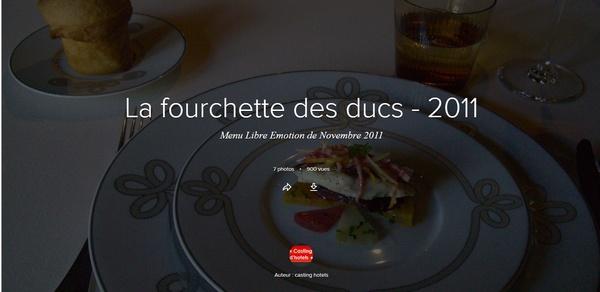 Galerie Flickr - La Fourchette des Ducs 2011