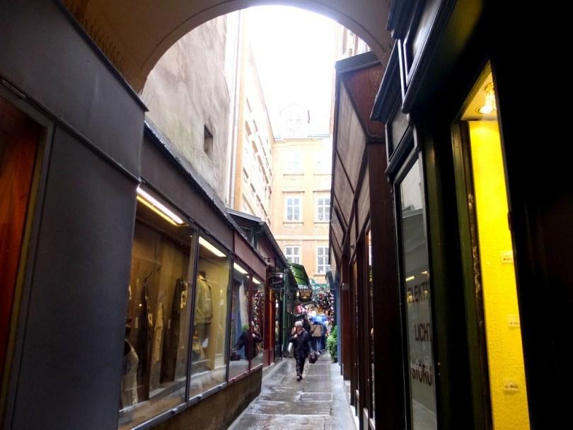 promenade à vienne - ruelle au centre ville