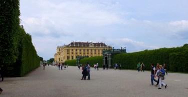 promenade à vienne - schonbrunn