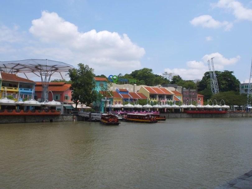 clarke quay Singapour