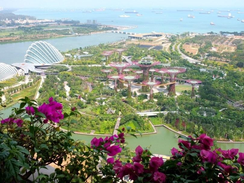 Marina Bay Sands Singapour - vue chambre