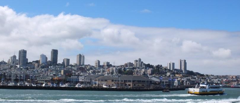 USA San Francisco - vue de la bay