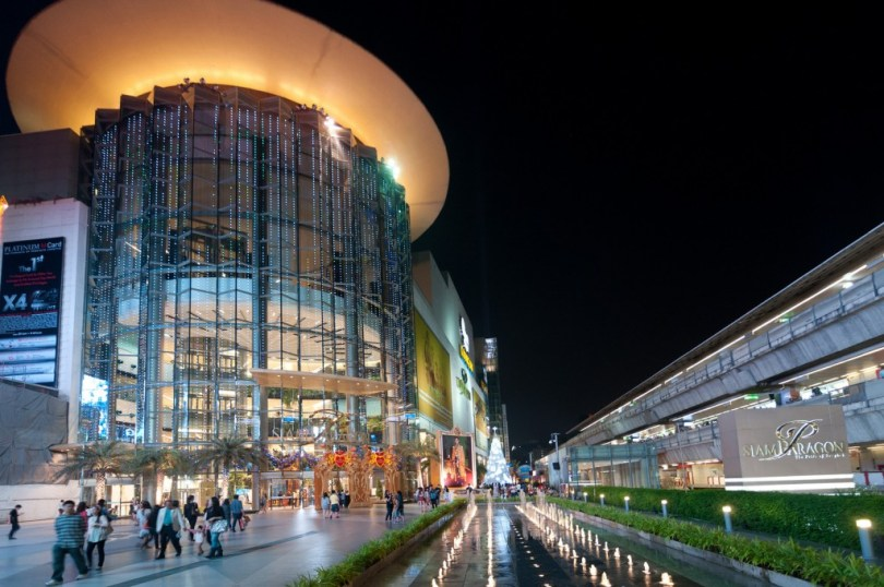 siam paragon bangkok shopping center