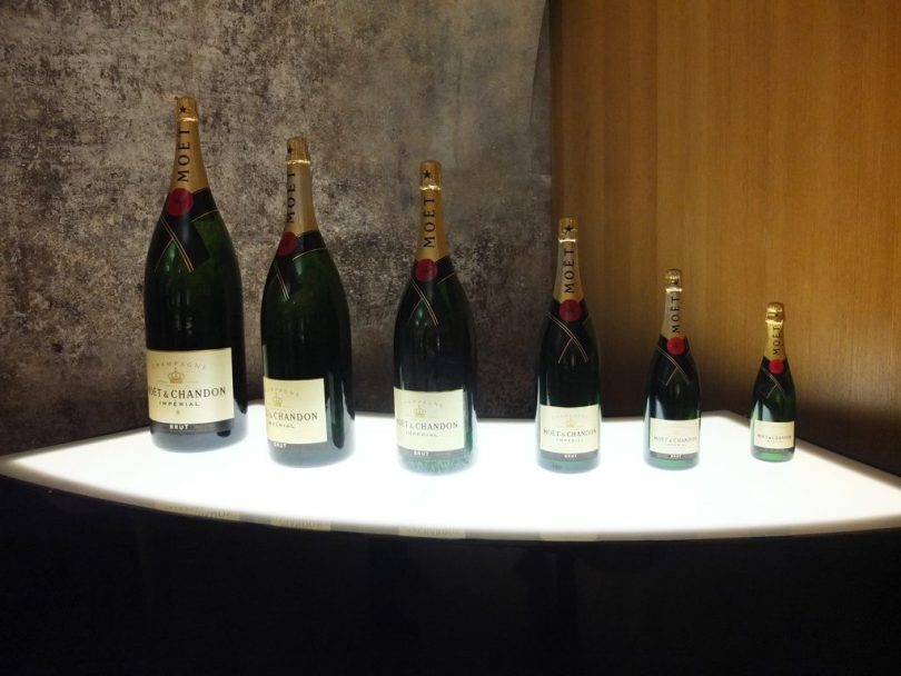 Champagne Moet & Chandon : Degustation