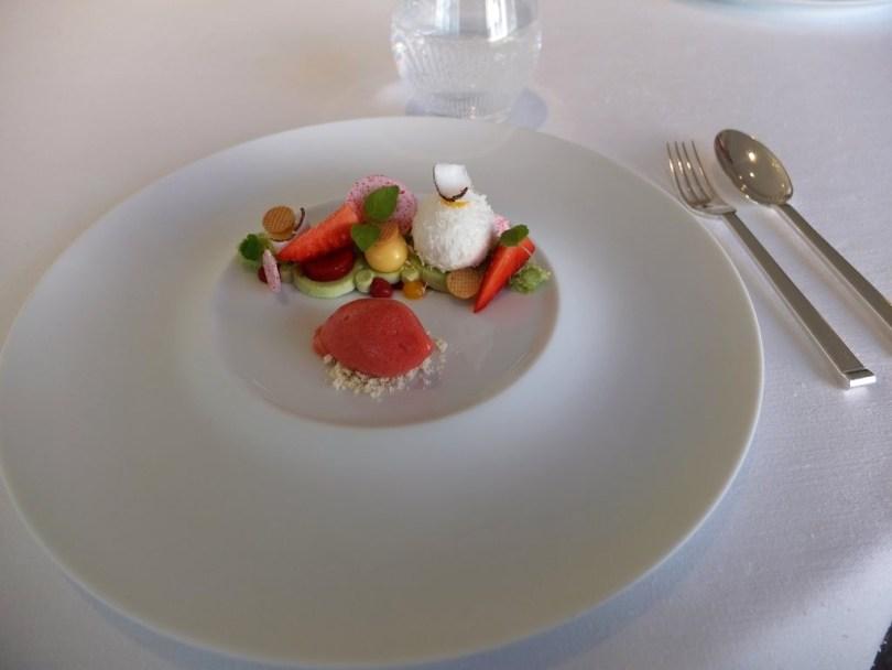 Restaurant Villa Rene Lalique - Dessert Signature à la frais