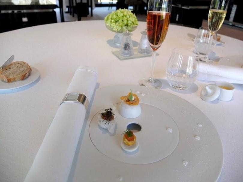 Restaurant Villa Rene Lalique - Amuse bouche
