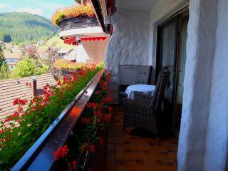 Hotel Bareiss Schwarzwald - Balcon