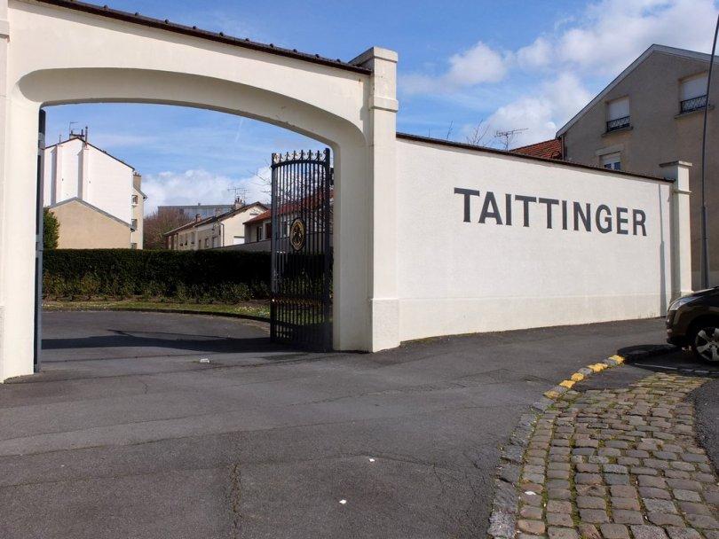 Champagne Taittinger - extérieur