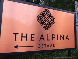 Acces à l'Alpina - The Alpina Gstaad