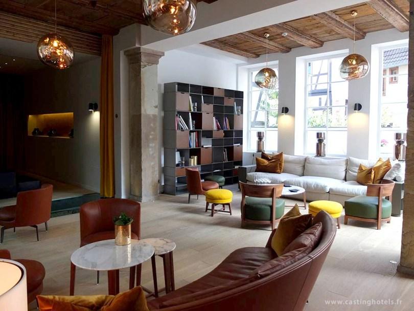 5 Terres Hôtel & Spa à Barr - Lobby / Bar