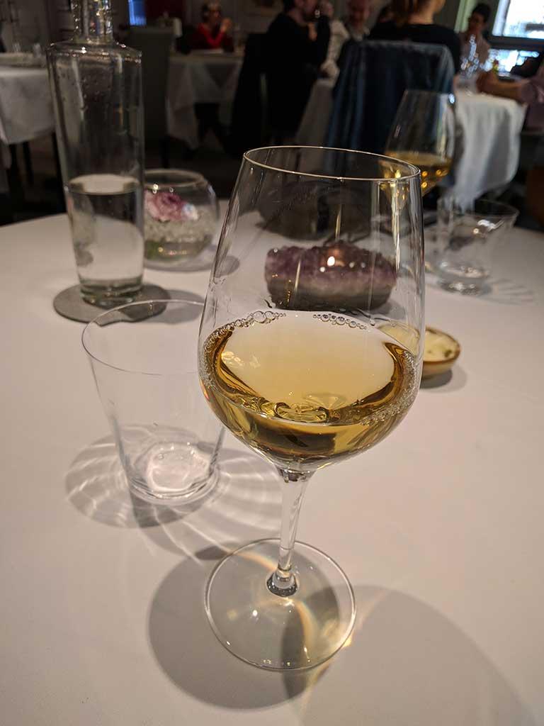 Restaurant Koehler auberge du cheval blanc à Westhalten - vin