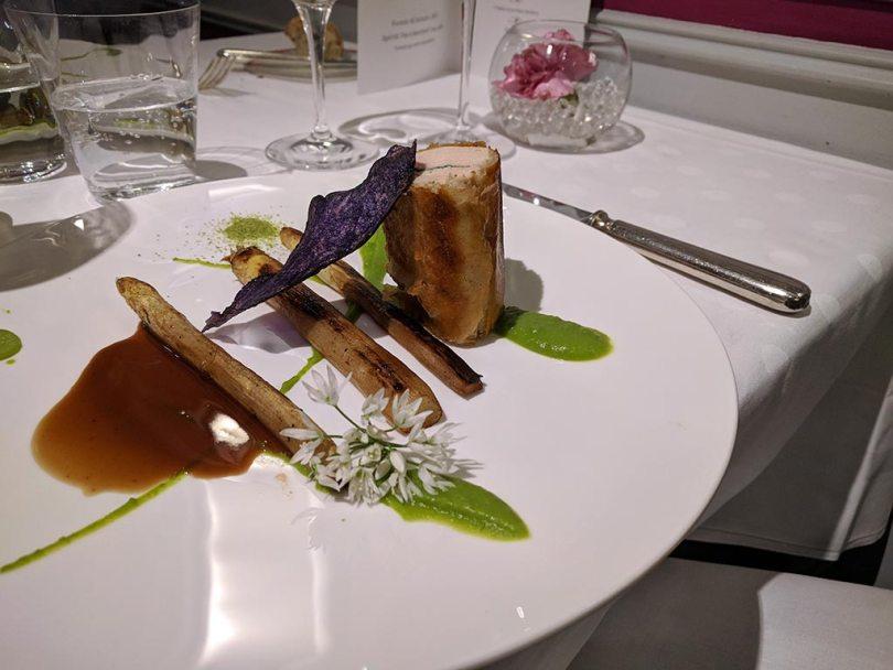 Restaurant Koehler auberge du cheval blanc à Westhalten - volaille