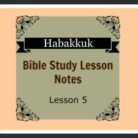 Habakkuk 2:4-2:20