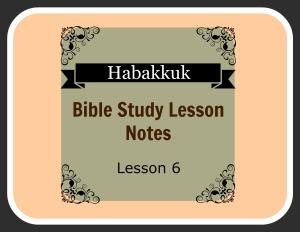 Habakkuk 3:1-6