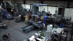 the cast iron welding services factory floor