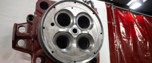 Wartsila Cylinder Head 46 Head Bore Cooling Channel Remanufacture by Cast Iron Welding Services
