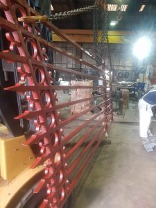 Stately Home Gates having cast iron welding repairs