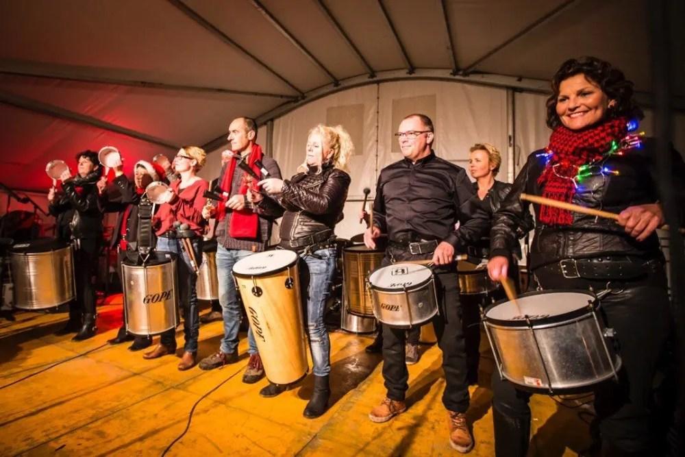 Sfeer Castle Christmas Fair 2015 te Heemskerk