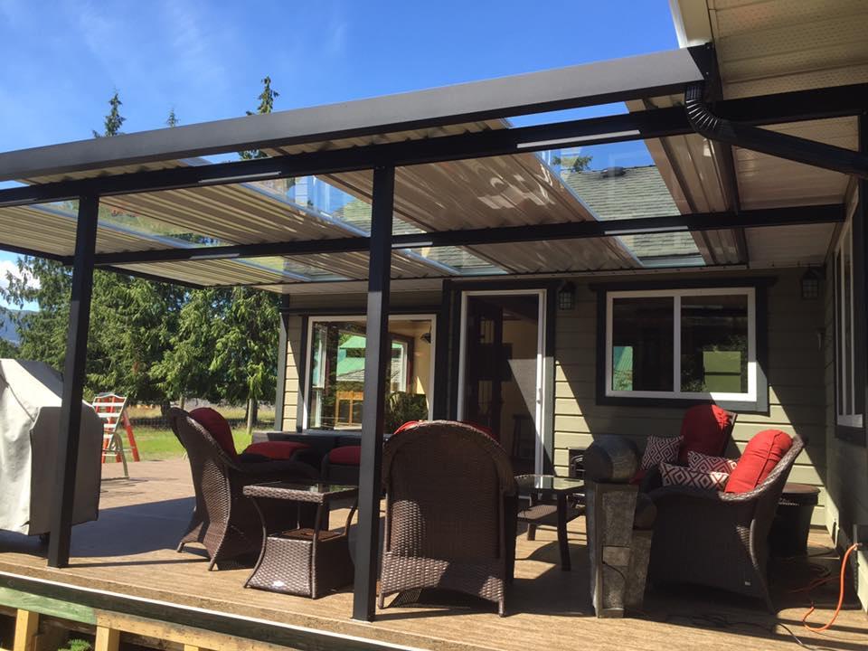 patio covers castle deck aluminum