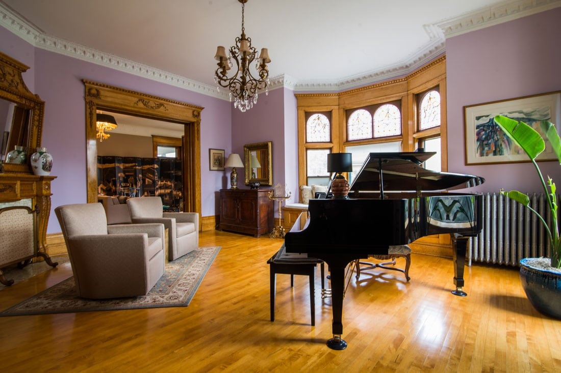 Check Out the Music Room and our Grand Piano