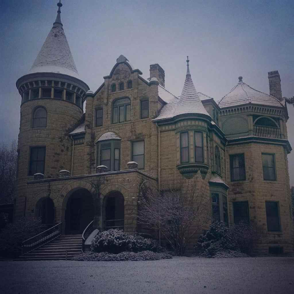 FIrst Snowfall of 2018 at Castle La Crosse